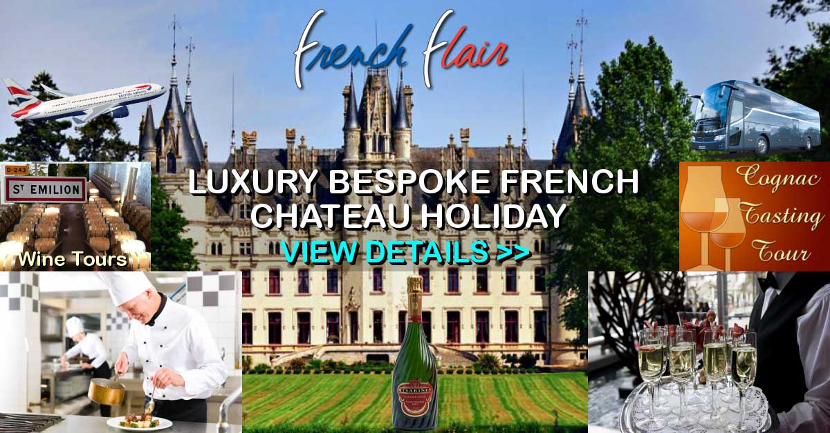Luxury Bespoke French Chateau Holiday